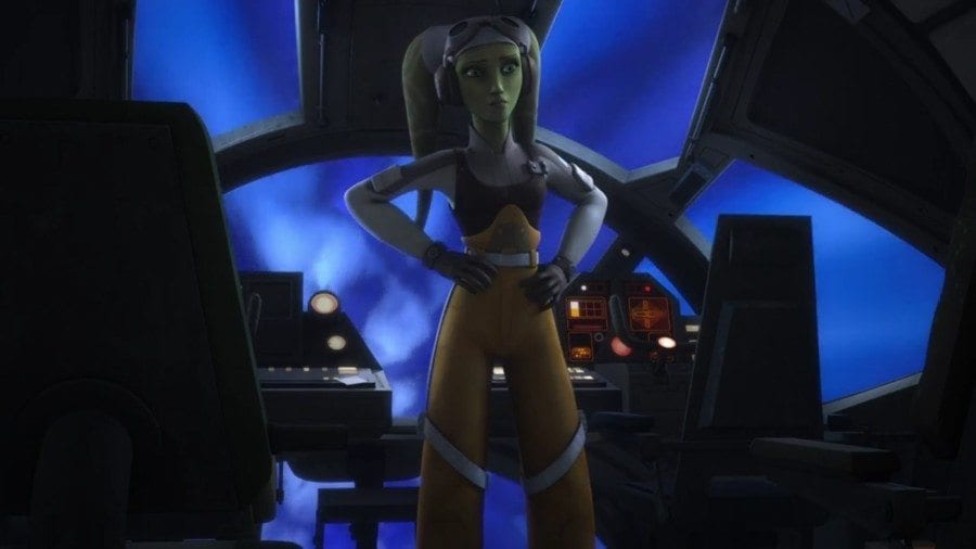 Starships, Sabers, and Scoundrels - Episode 24 - Keep Calm and Clone Wars On - Hera on the Bridge