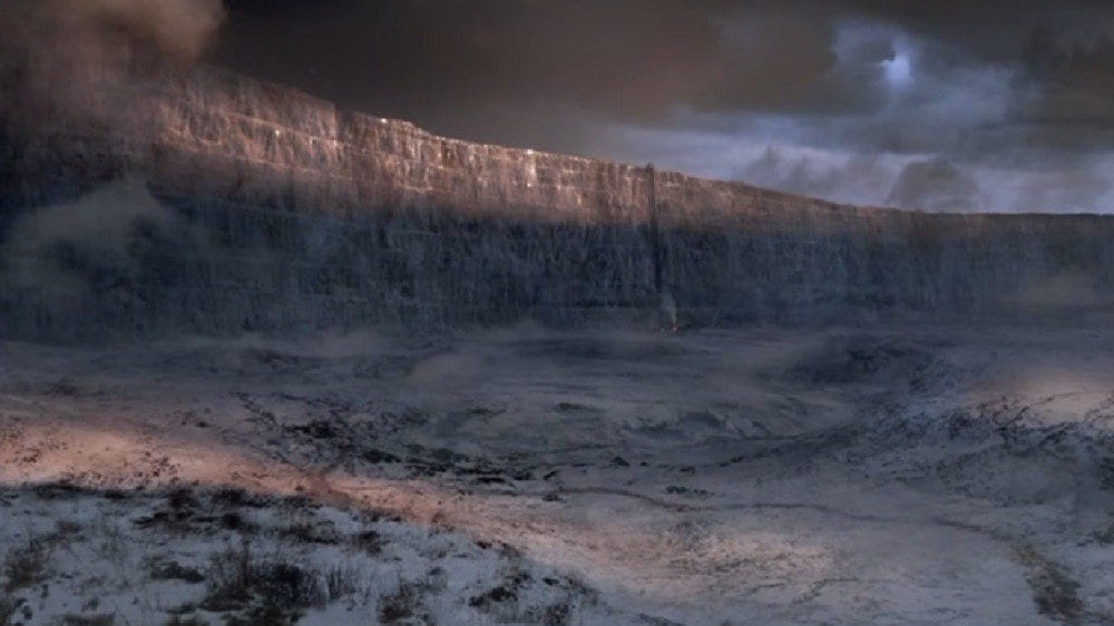The Wall Game of Thrones Causality
