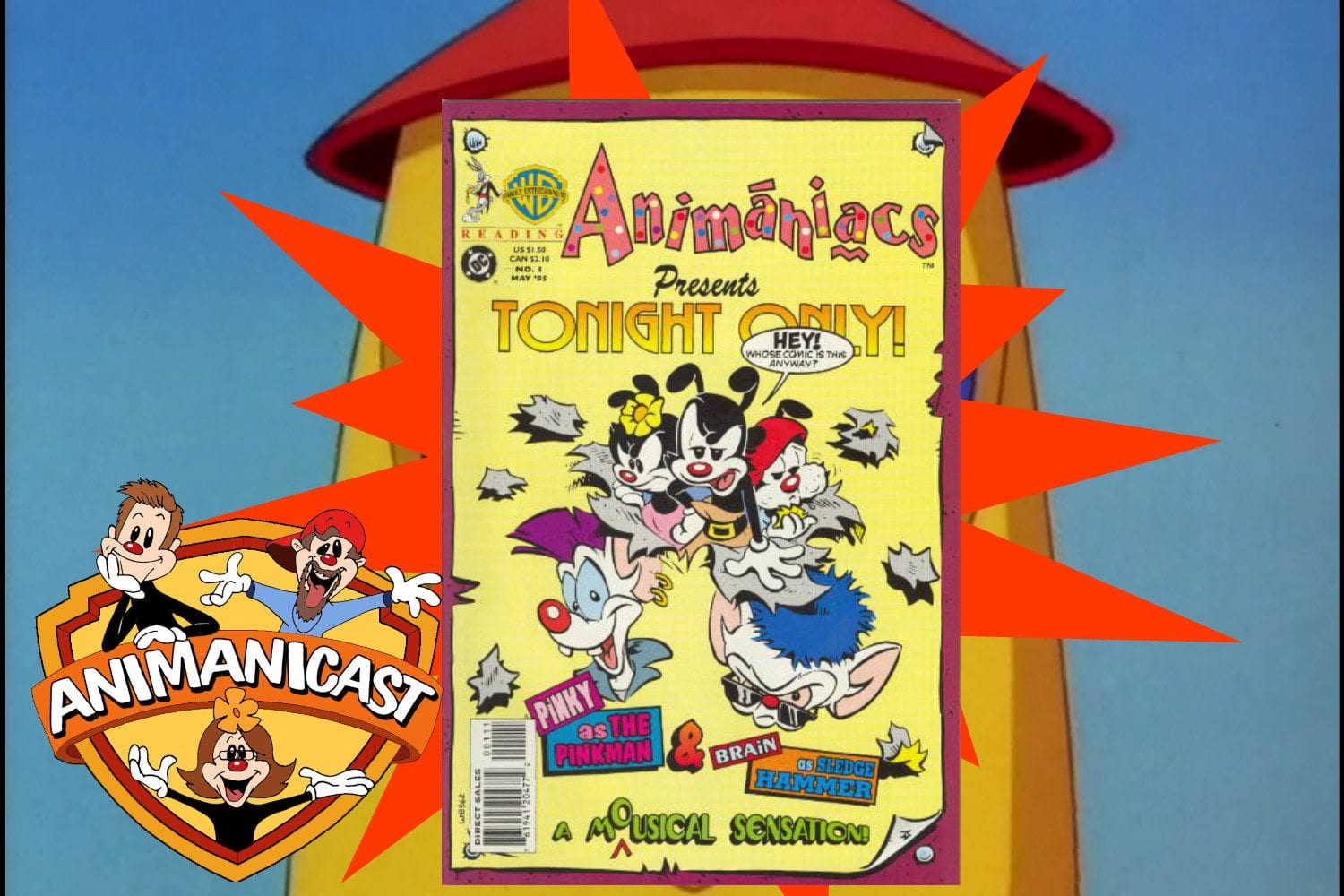 Animanicast #43a:  Discussing the Animaniacs Comic! Issue #1