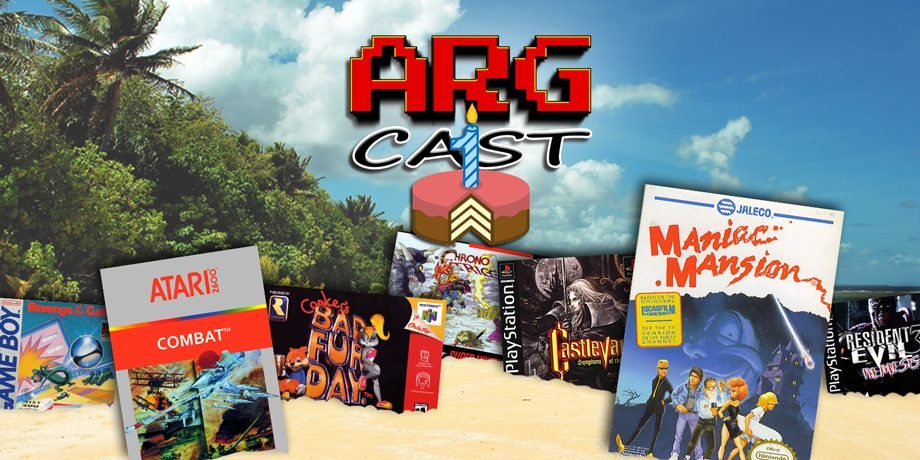 ARGcast #54: One Year of ARGcast and Video Game Desert Island with Skelly!
