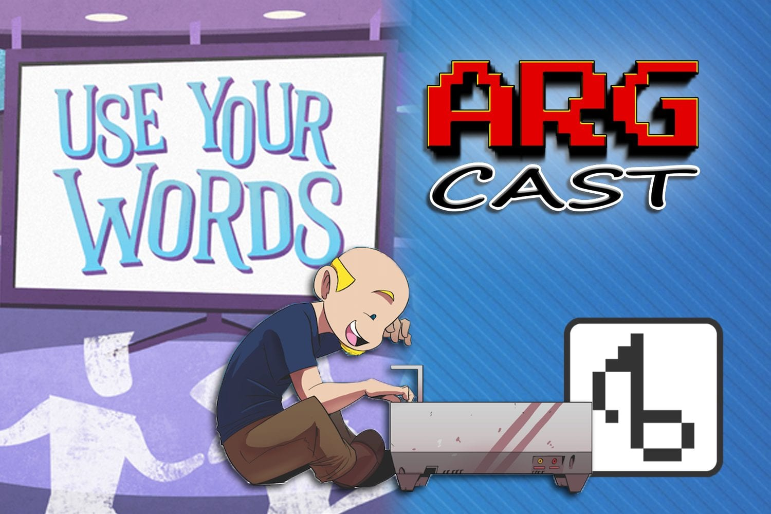 ARGcast #55: Use Your Words and Video Game Music with Brentalfloss