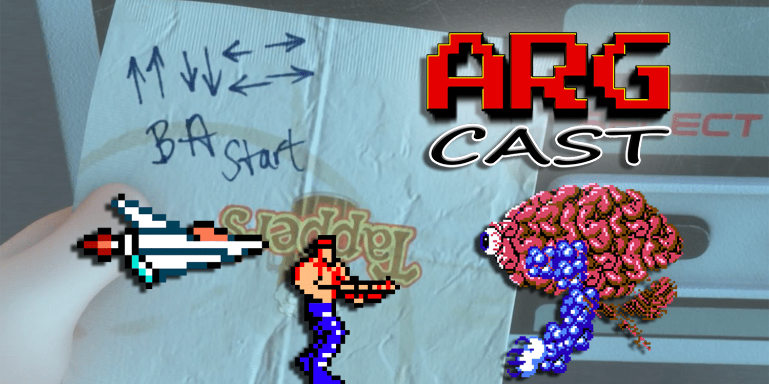 ARGcast #56: Entering the Konami Code with Justin Brunelle