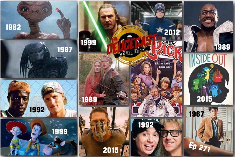 The Deucecast Movie Show #271: Movie Year Tourney VII