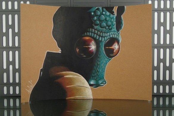 Jay Manchand - Arist Series - Greedo