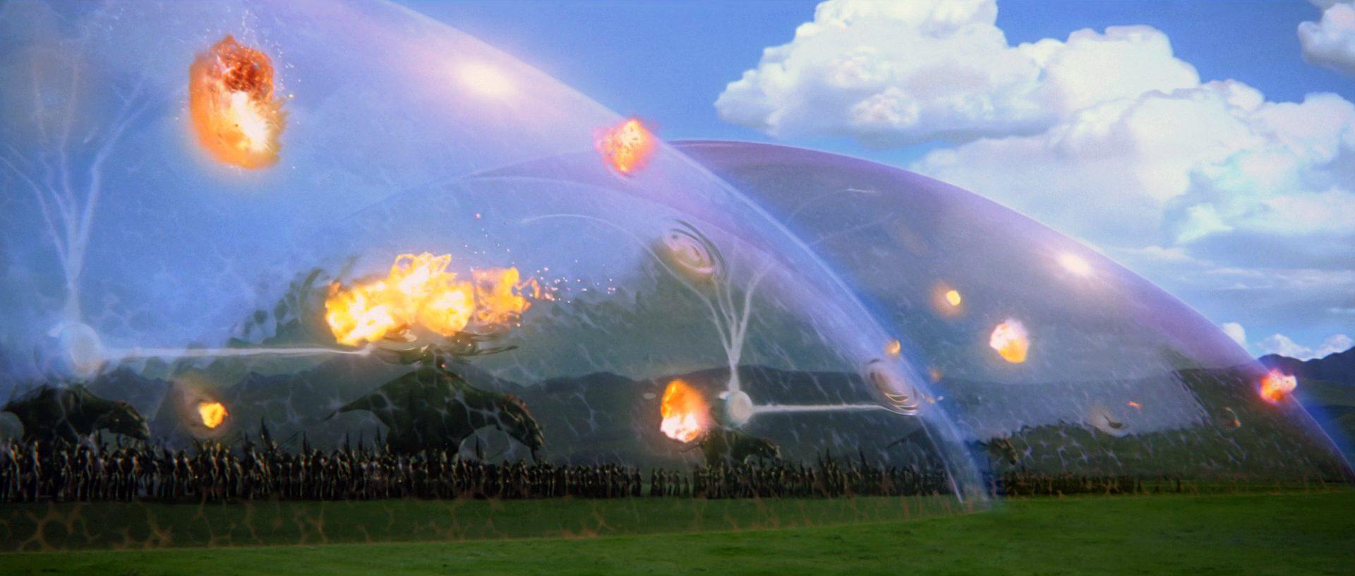 Star Wars plot holes - gungan shield