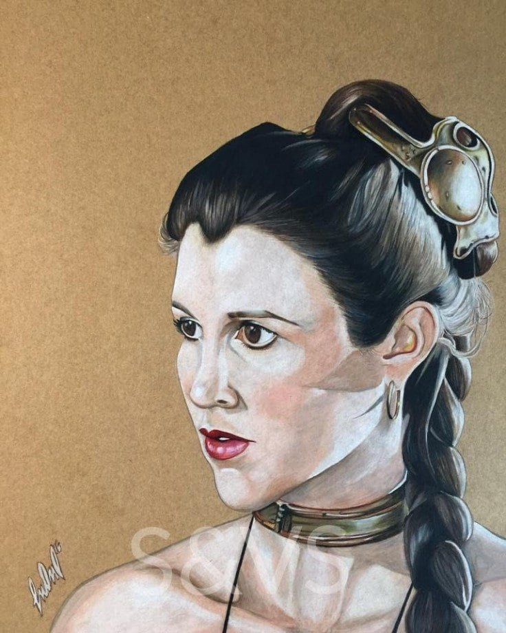 Jason Manchand - Arist Series - Princess Leia