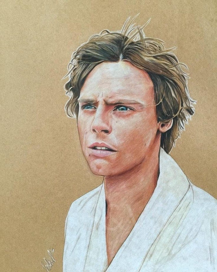 Jason Manchand - Arist Series - Luke Skywalker
