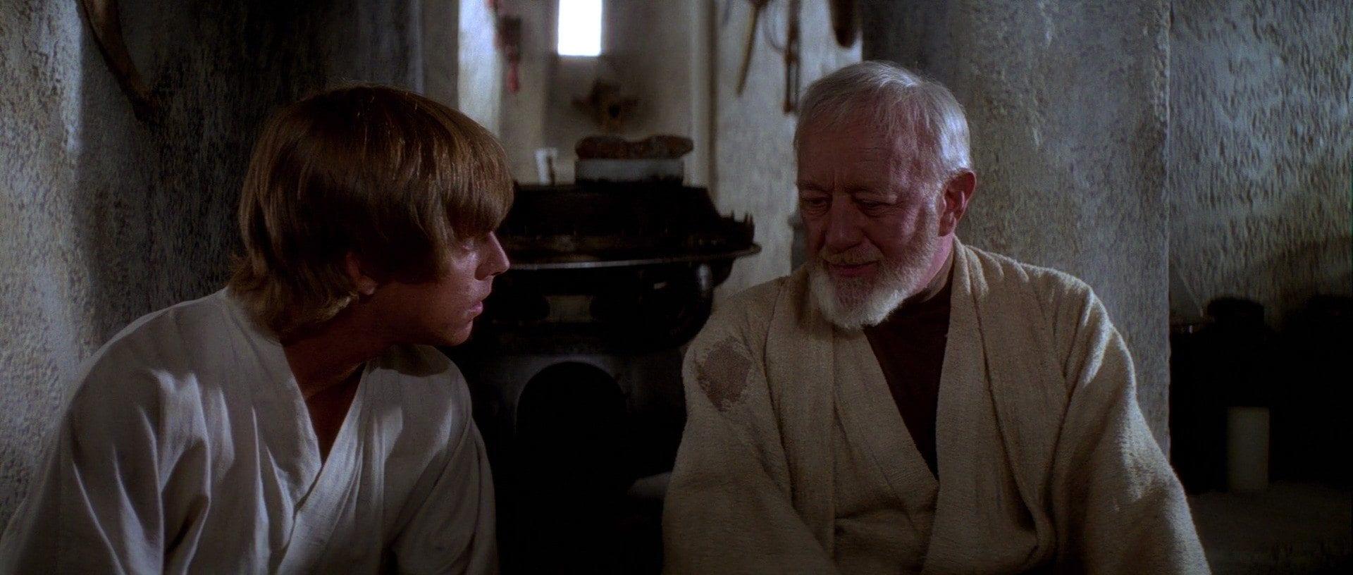 Star Wars plotholes- obi-wan lying to luke