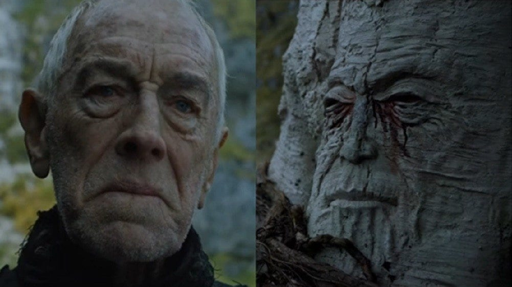 old gods weirwood face