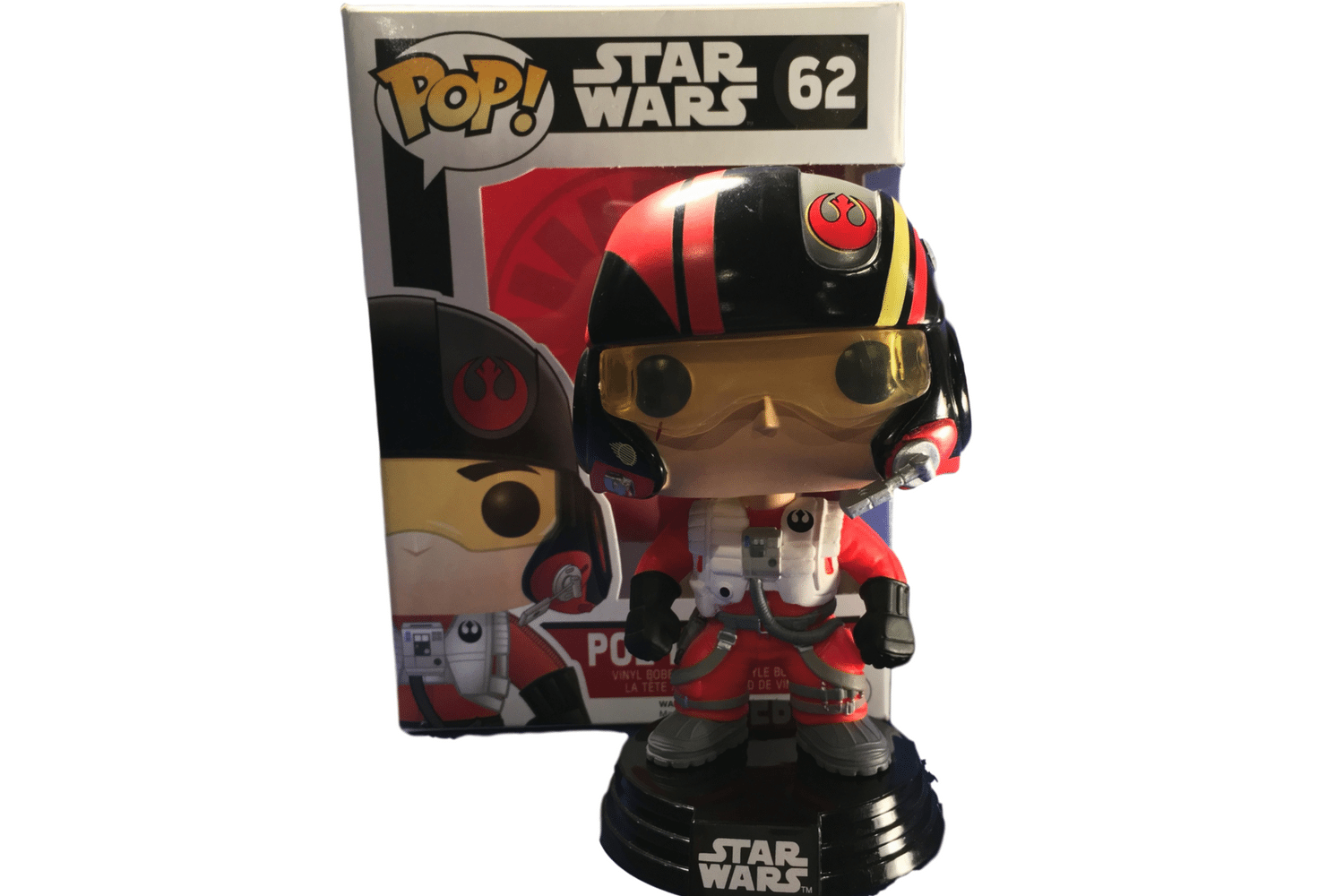Funko Pop! Star Wars Guide #62 Poe Dameron