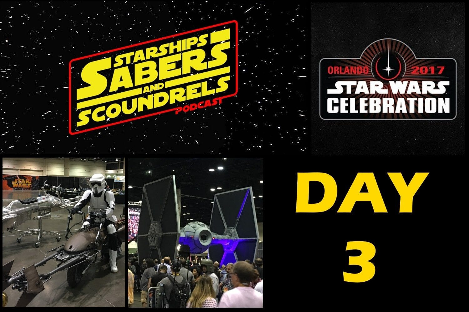 Starships, Sabers, and Scoundrels Celebration Report - Day 3 - Autograph Hunting
