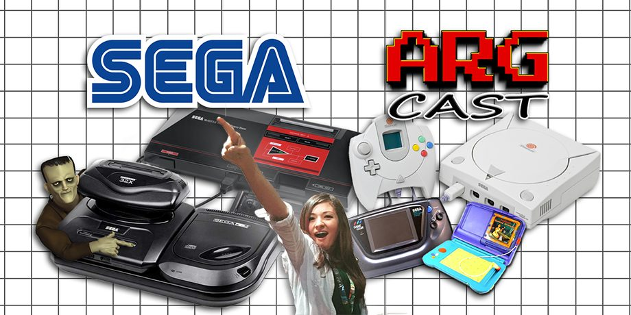 ARGcast #58: SEGA Console History with Kelsey Lewin