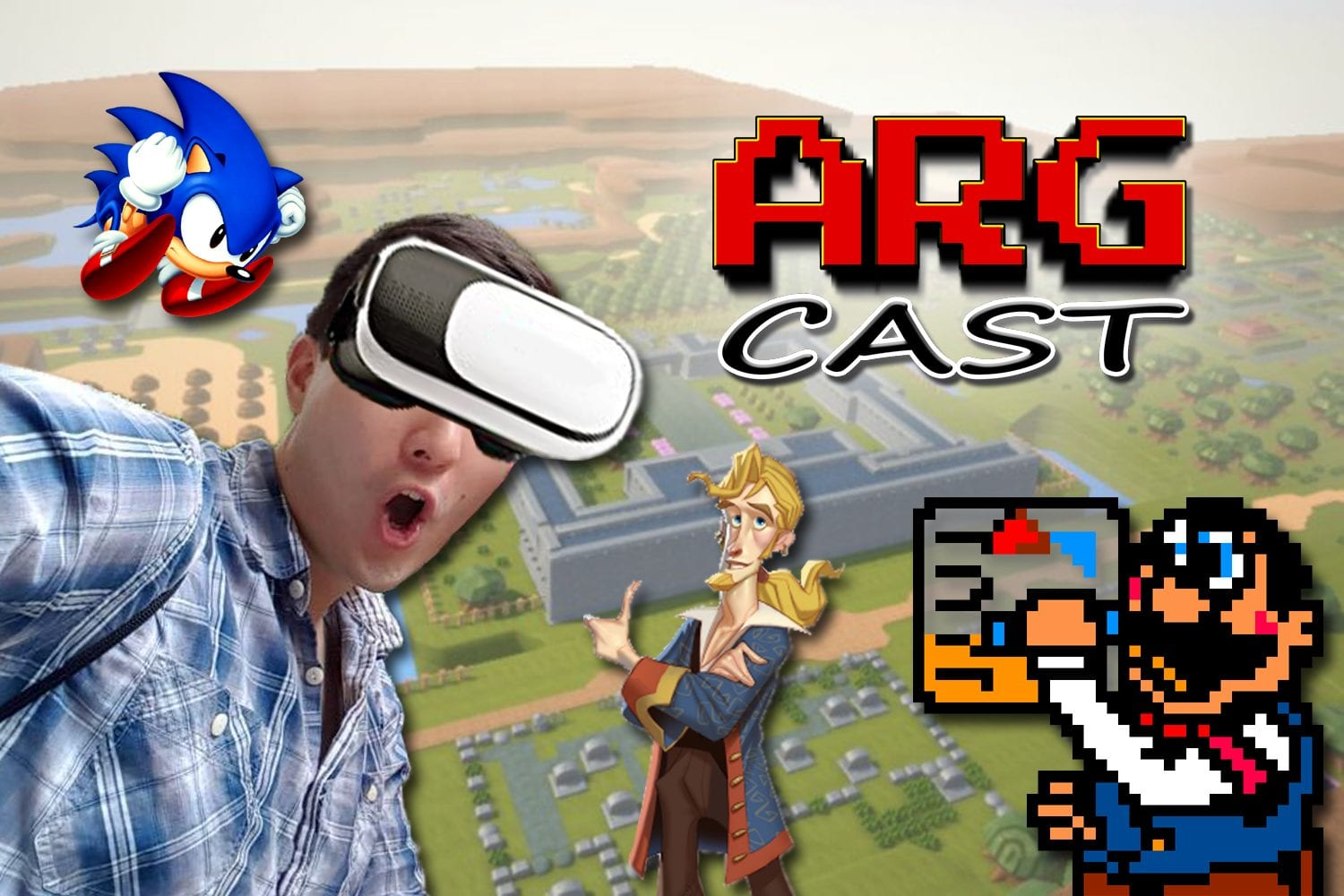 ARGcast #60: Virtual Reality Retro Gaming with Justin Chou