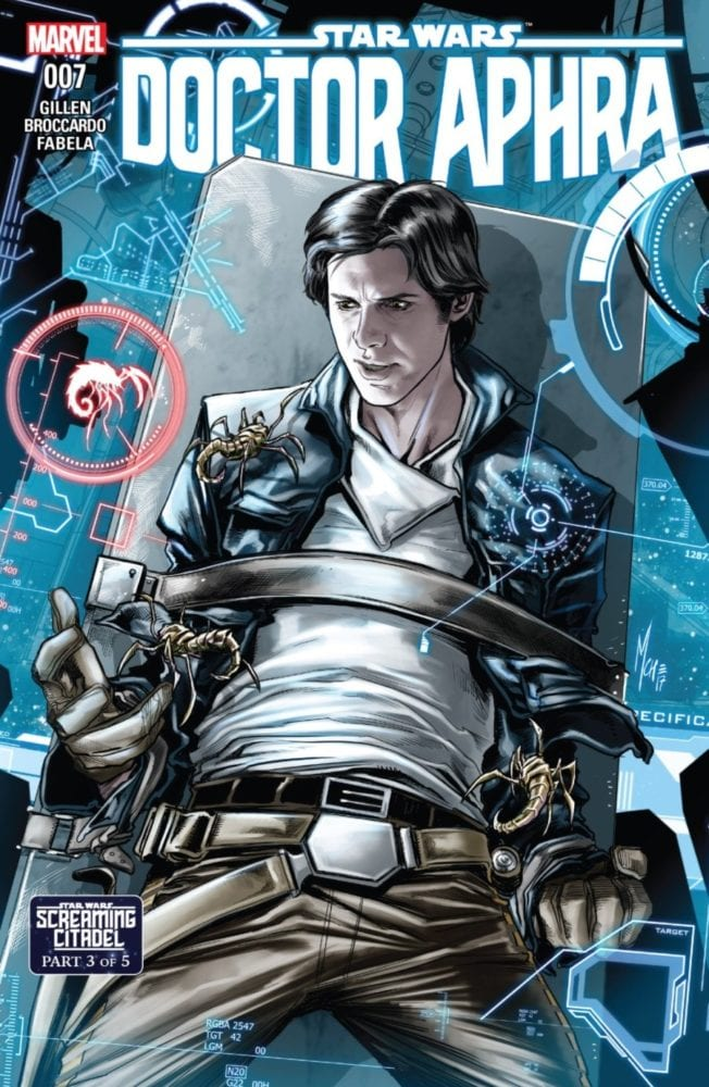 Doctor Aphra #7 - The Screaming Citadel Part III - Cover