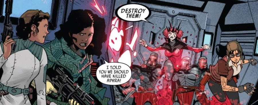 Doctor Aphra 7 - Screaming Citadel Part III - Pinned in by the Queen