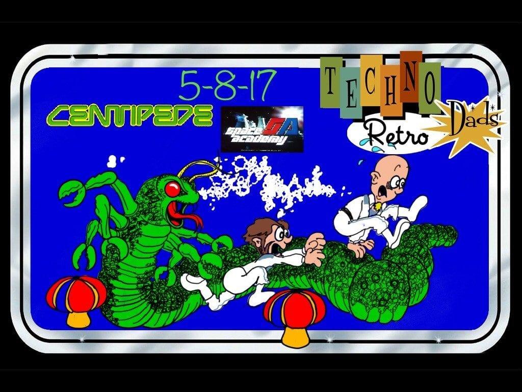 RetroZap TechnoRetro Dads Centipede