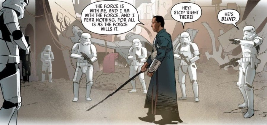 Rogue One #2 - All is as the Force wills it.
