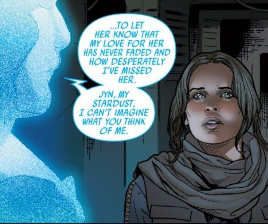 Rogue One #2 - Jyn listens to Galen Erso