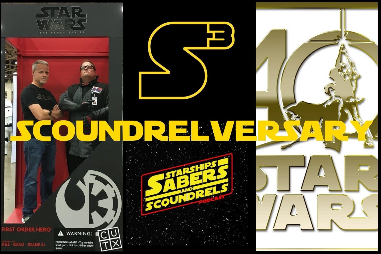 Starships, Sabers, and Scoundrels - episode - 28 - the First Scoundrelversary