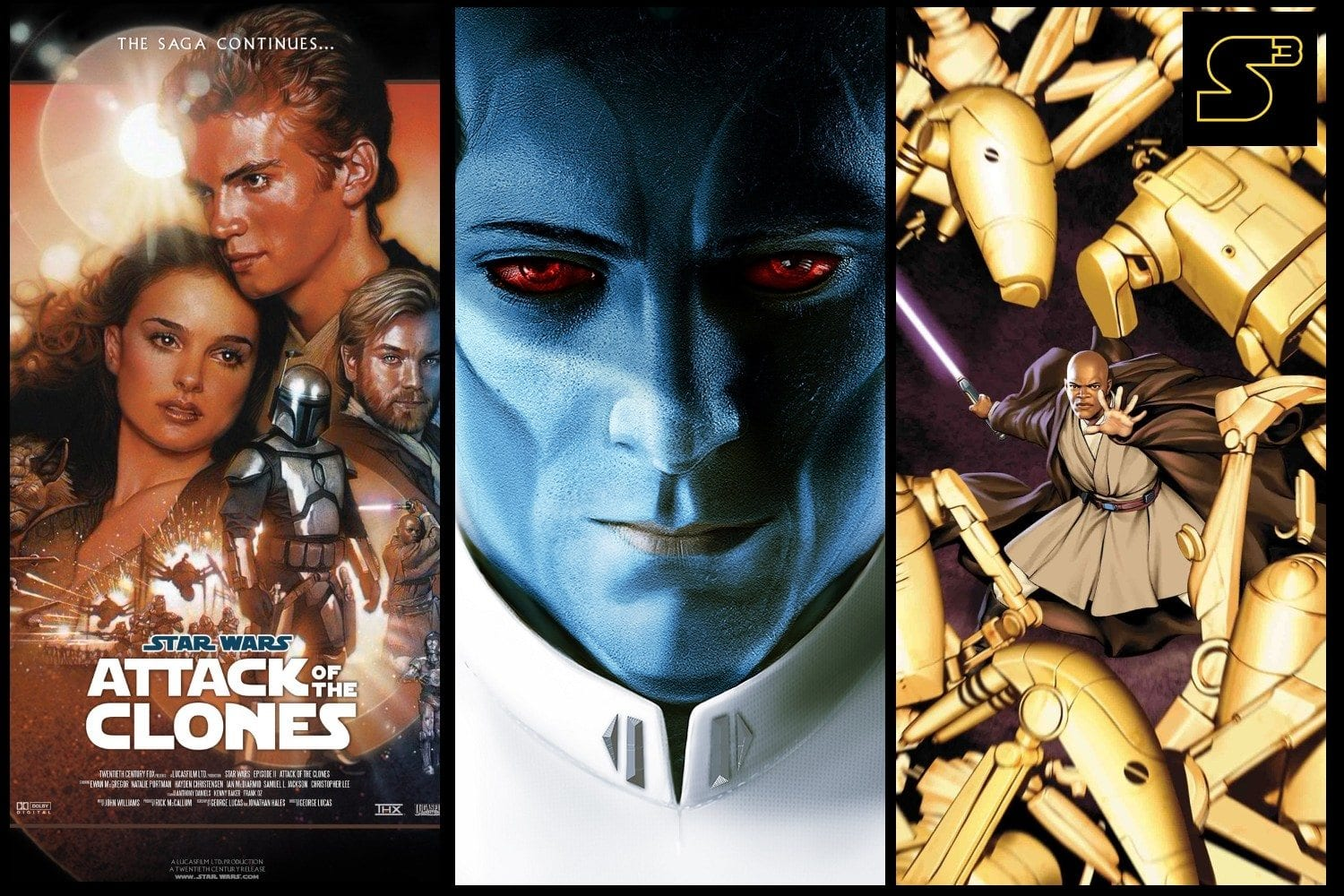 Starships, Sabers, and Scoundrels - Show 29 - Tackling Thrawn
