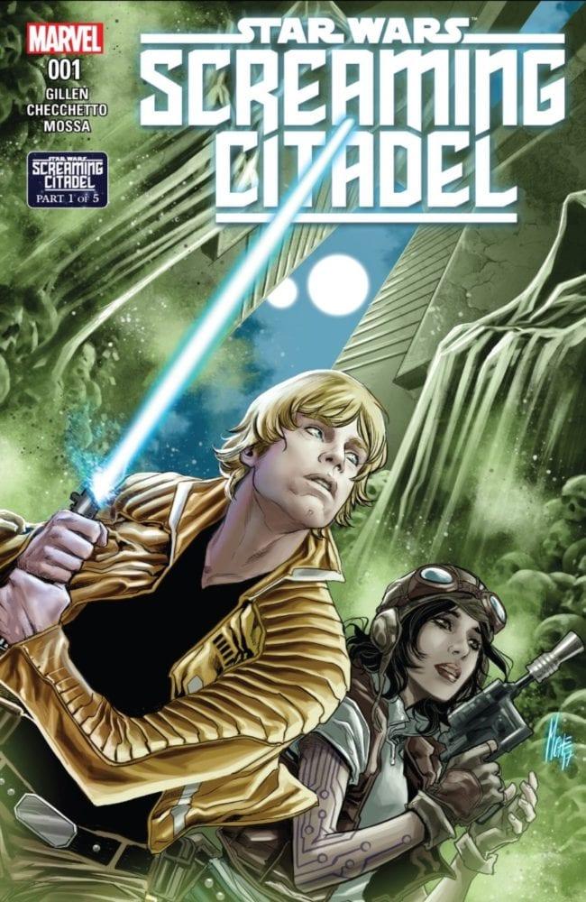 Screaming Citadel #1 Cover