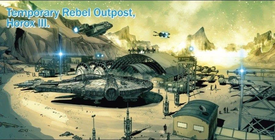 Screaming Citadel #1 - Rebel Outpost