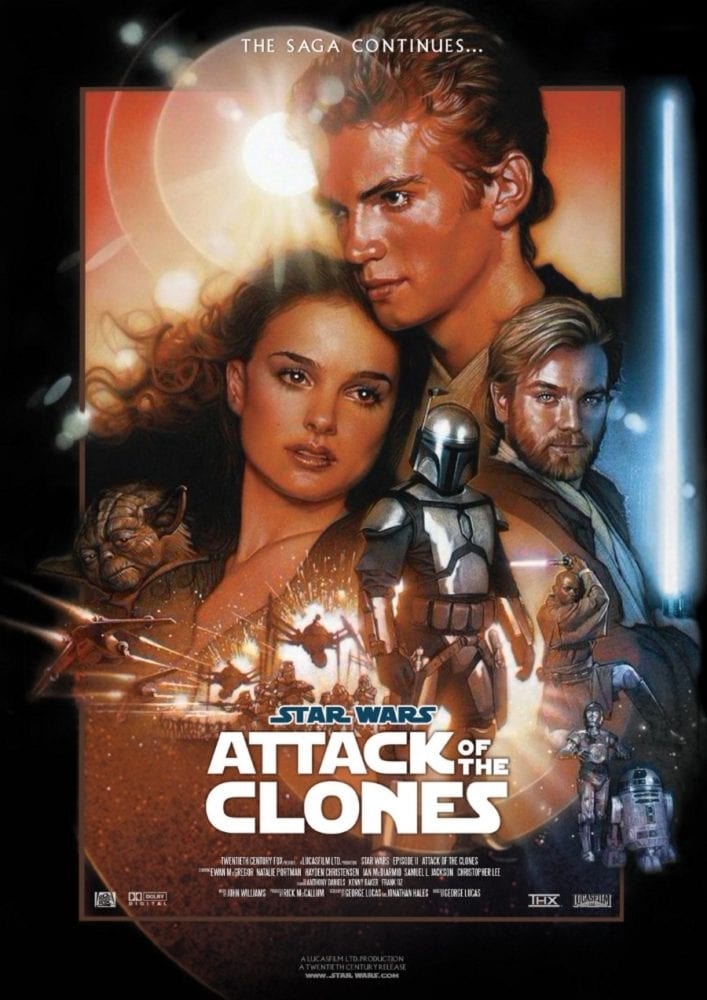Starships, Sabers, and Scoundresls - show 29 - Tackling Thrawn - Attack of the Clones Poster