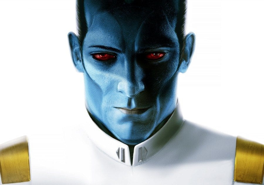 Starships, Sabers, and Scoundrels - Show 29 - Tackling Thrawn - Thrawn Cover Image