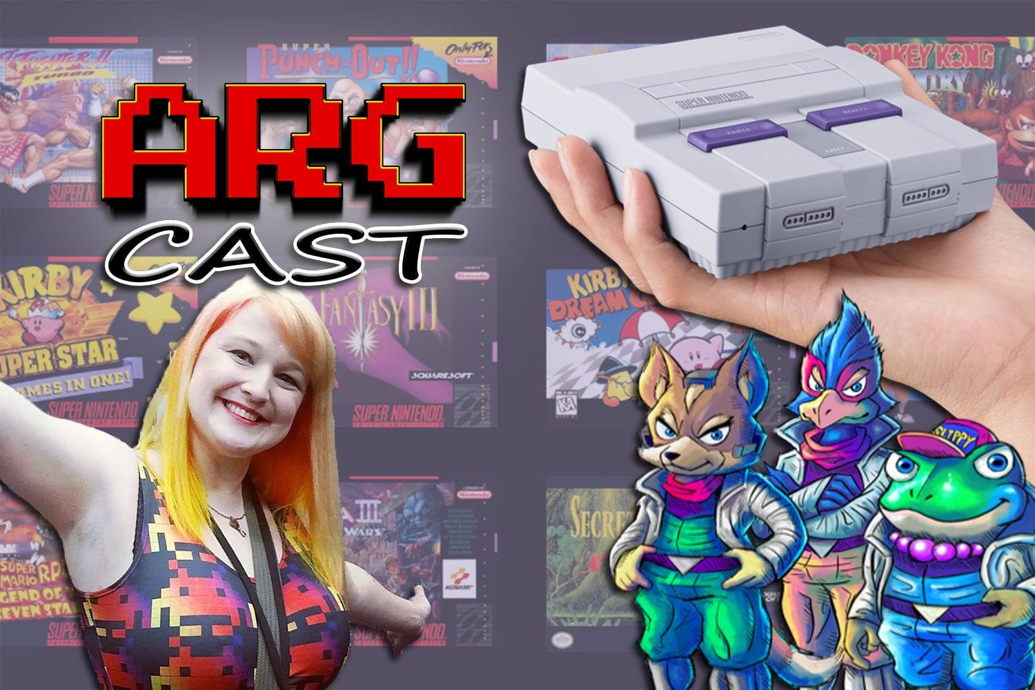 ARGcast #66: SNES Classic and Star Fox 2 with Kinsey Burke