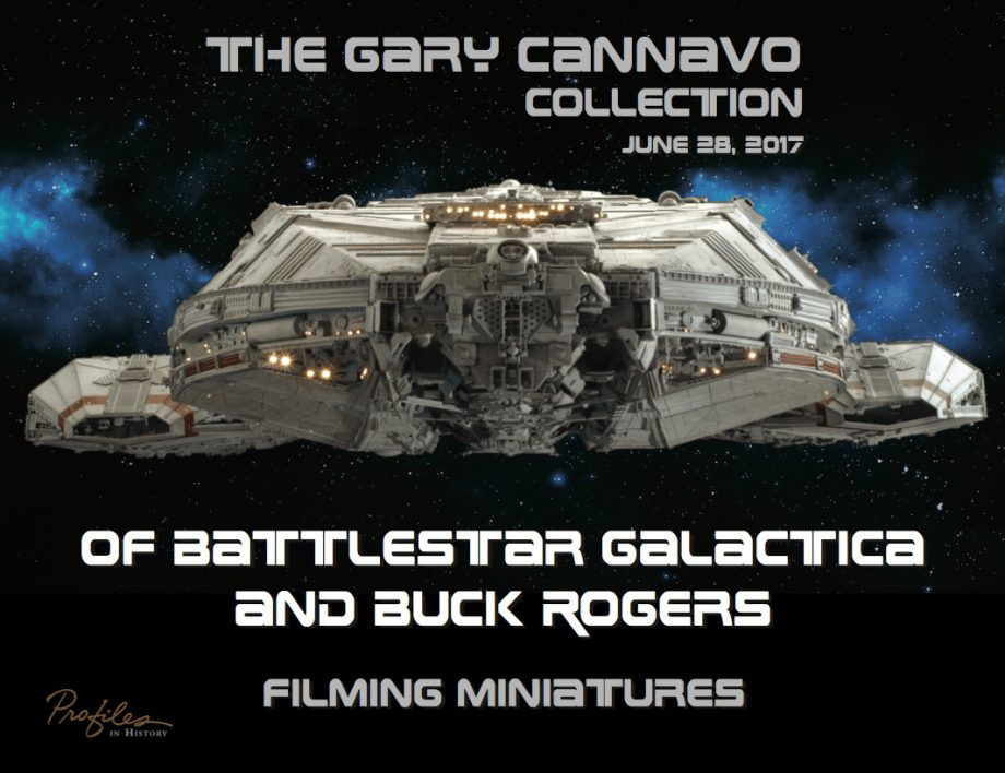 Movie and TV props auction Gary Cannavo collection