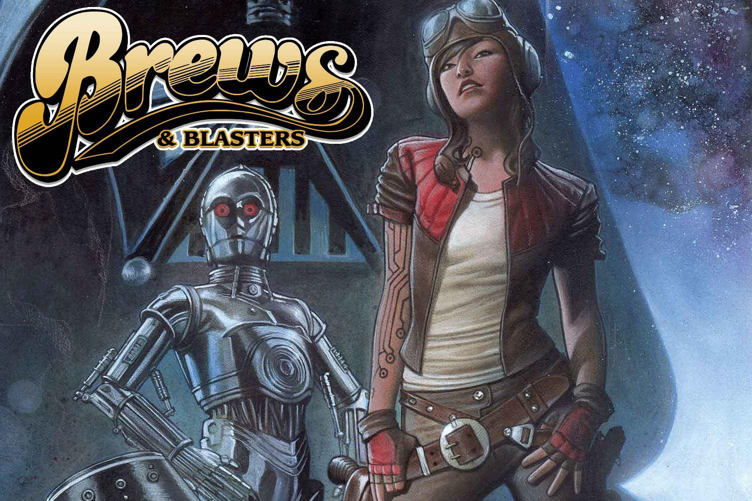 Brews and Blasters 123: Poe DaMOOREon + Other Comics