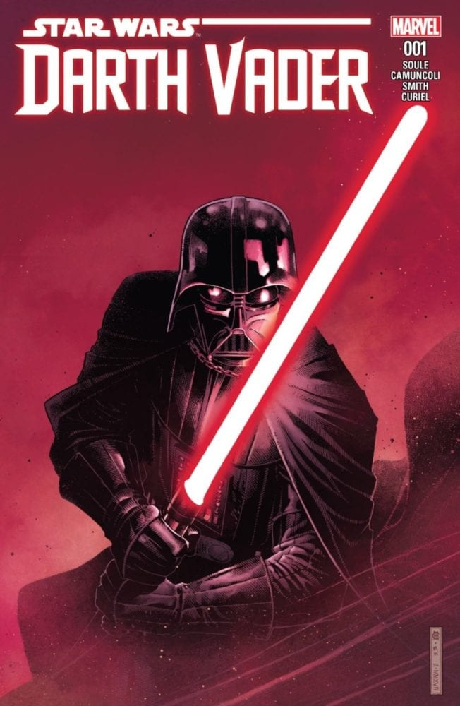 Darth Vader #1 - The Chosen One Part I - Cover