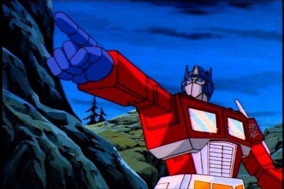 Transformers cartoons - Optimus Prime
