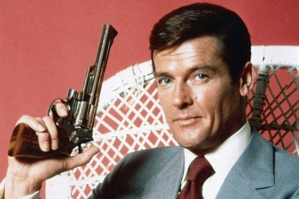 Roger Moore tribute