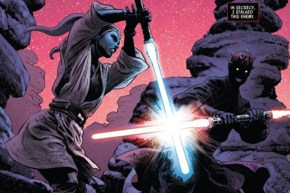 Darth Maul #5 Maul and Eldra Feature image