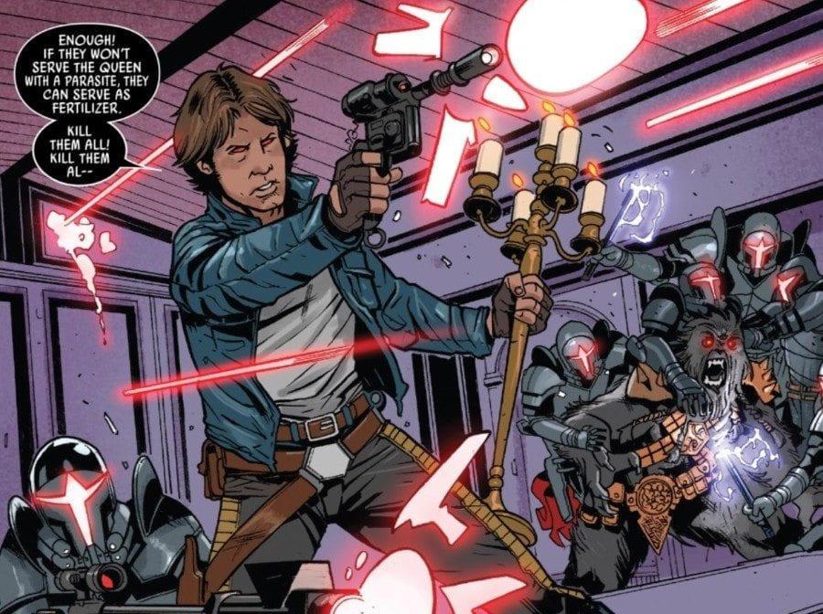 Doctor Aphra #8 - The Screaming Citadel Part V - Han Solo