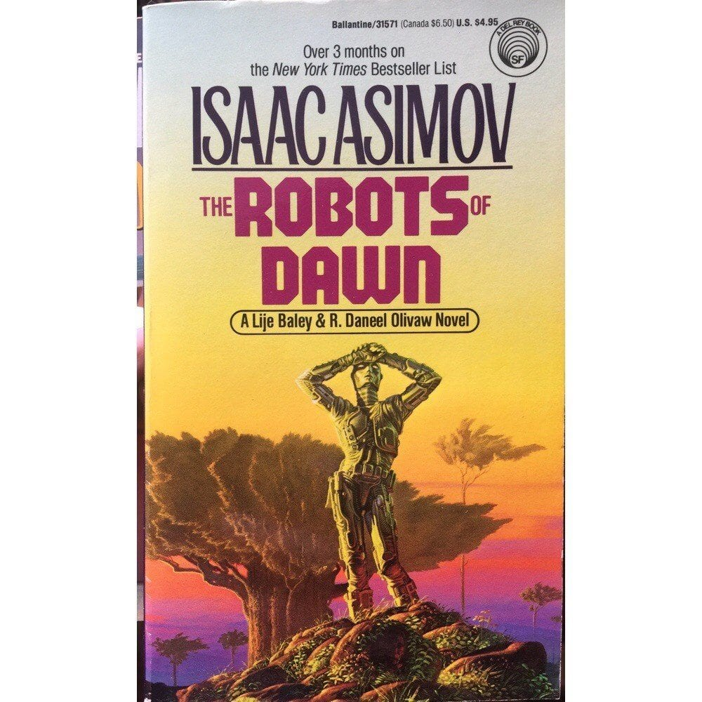 The Robots of Dawn, Written by Isaac Asimov