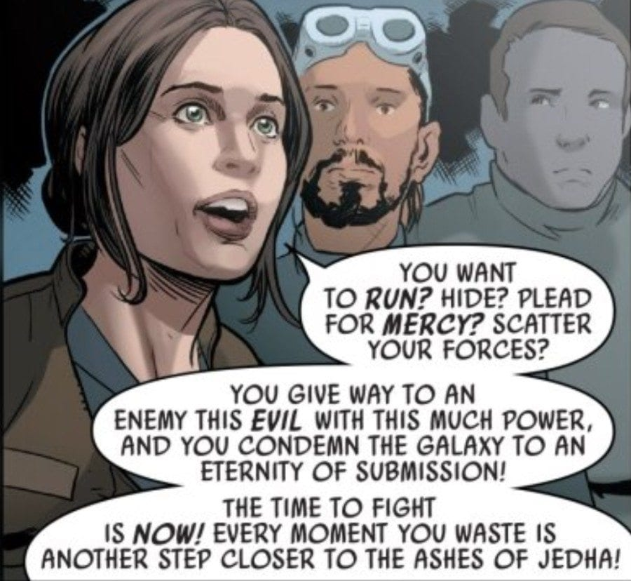 Rogue One #4 Favorite Panel
