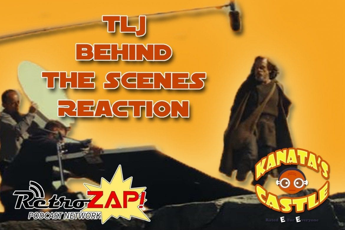 The Last Jedi Behind the Scenes Reel TLJ behinds the scenes reaction