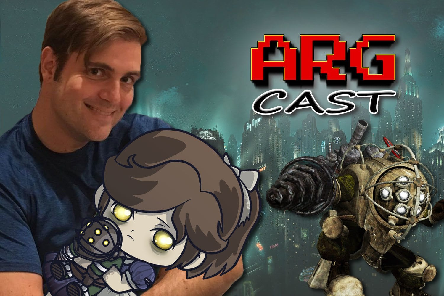 ARGcast #74: Under The Sea in BioShock with Bill Gardner