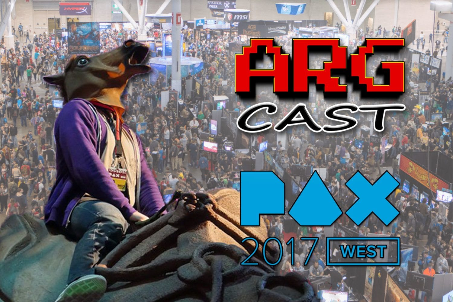 ARGcast #75: Pre PAX West 2017 Horseplay with Justin Brunelle