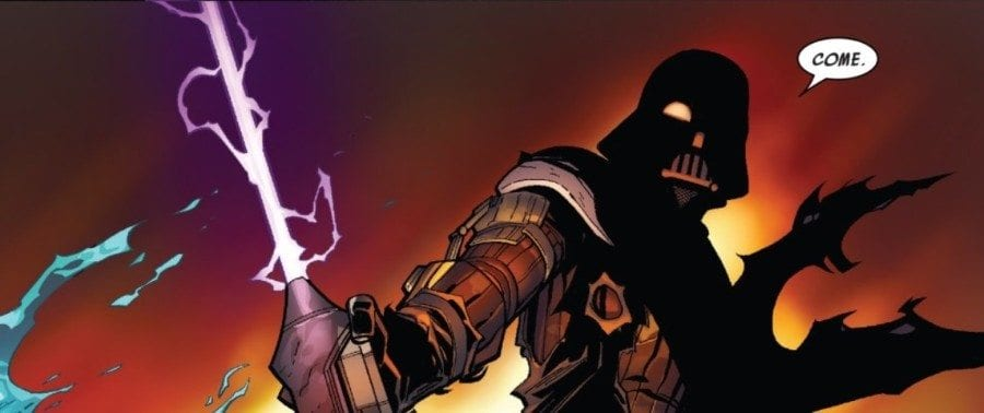 Darth Vader #4 - The Chosen One Part IV - Vader Challenges Infil'a