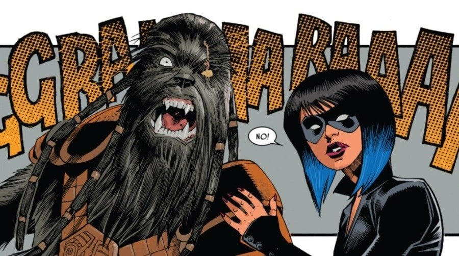 Doctor Aphra #10 - Aphra and Krrsantan