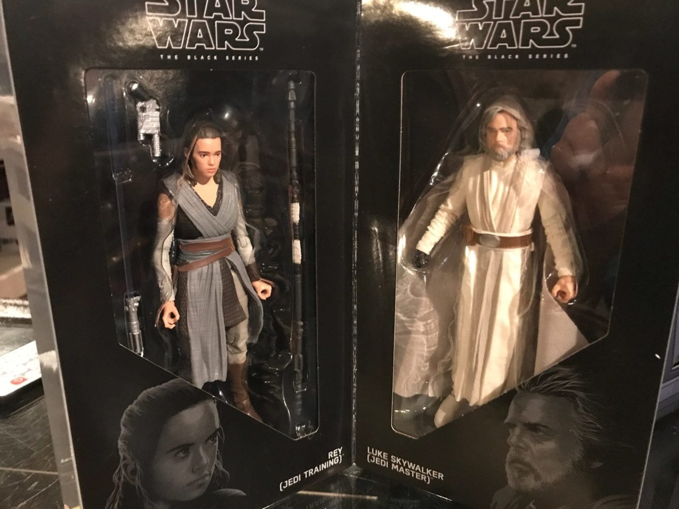 SDCC exclusive Rey Luke