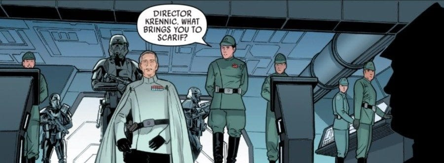 Rogue One #5 Krennic on Scarif