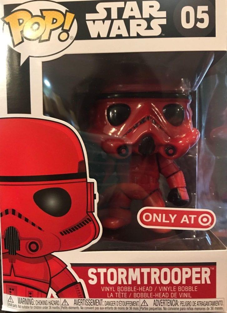 Target Classic Red Stormtrooper POP