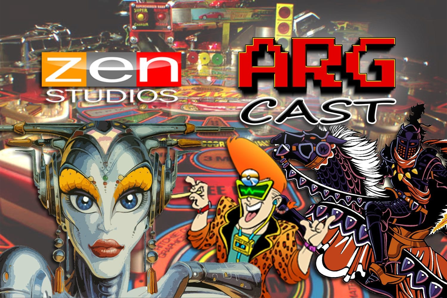 ARGcast #83: Shooting Pinball with Mel Kirk of Zen Studios