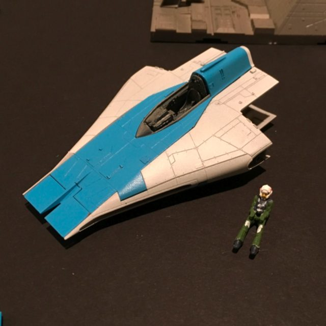 A-Wing Pilot and Body