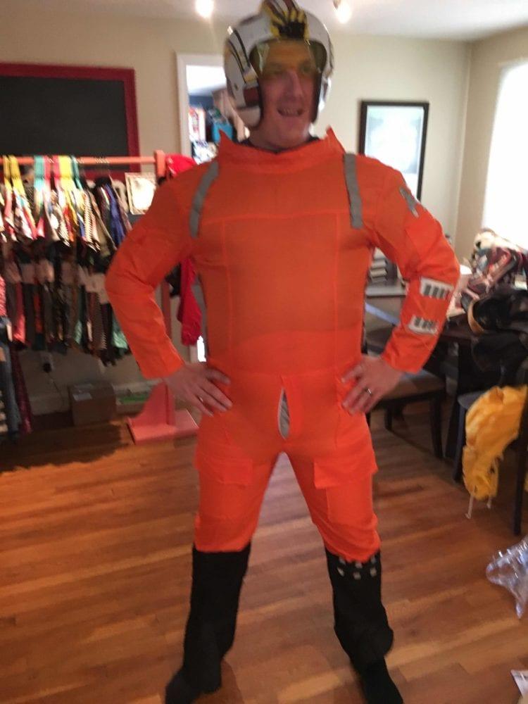 x-wing costume halloween