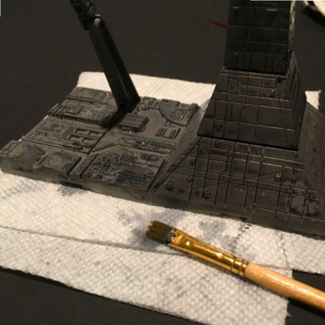 Bandai A-Wing Starfighter Model Kit Build
